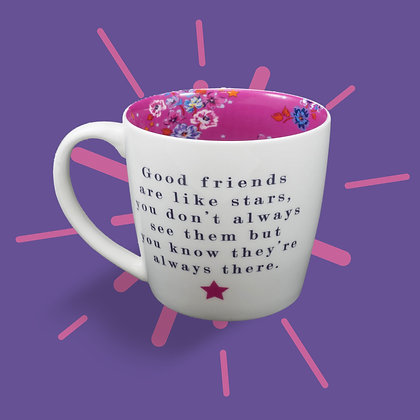 Good Friends Are Like Stars Mug