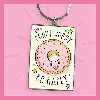 Donut Worry - Keyring