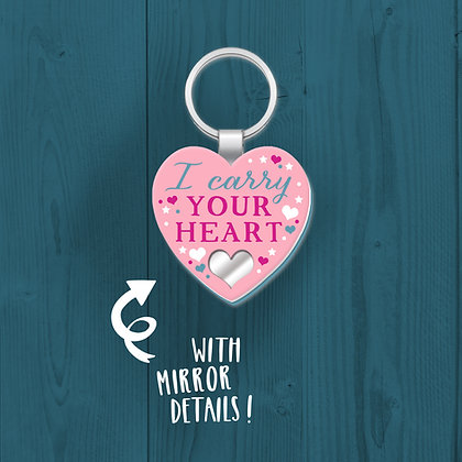 I Carry Your Heart, Keyring