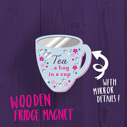 Tea, Fridge Magnet