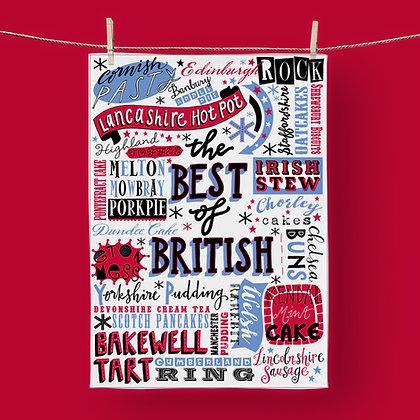 Best Of British, Tea Towel