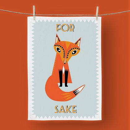 For Fox Sake, Tea Towel