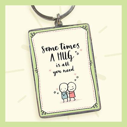 Sometimes A HUG is all you need. Keyring