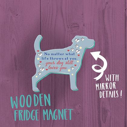 Dog lover, Fridge Magnet