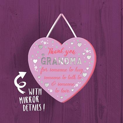 Grandma Wooden Plaque