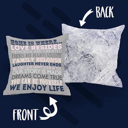 Home Is Where... Cushion