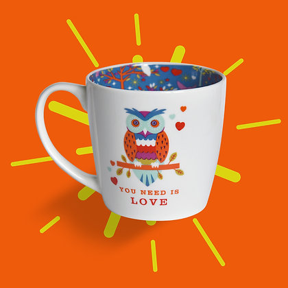 Owl You Need Is Love Mug