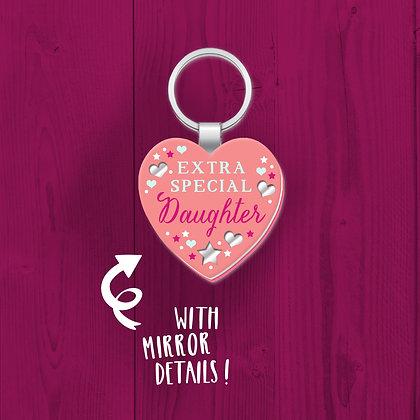 Extra Special daughter, Keyring