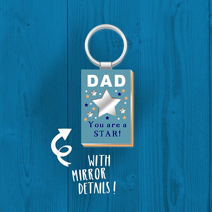 Dad You Are A Star, Keyring