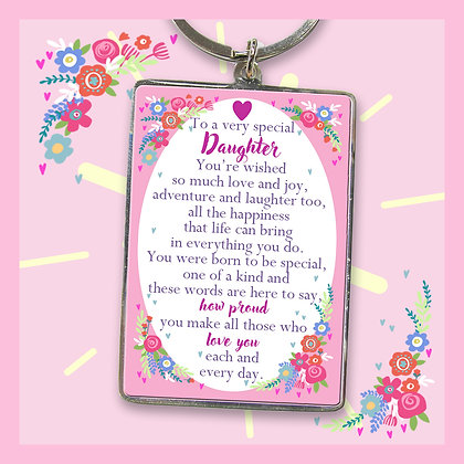 Daughter Keyring