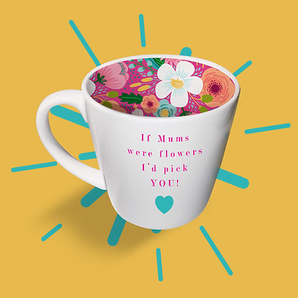 If Mums were flowers... Mug