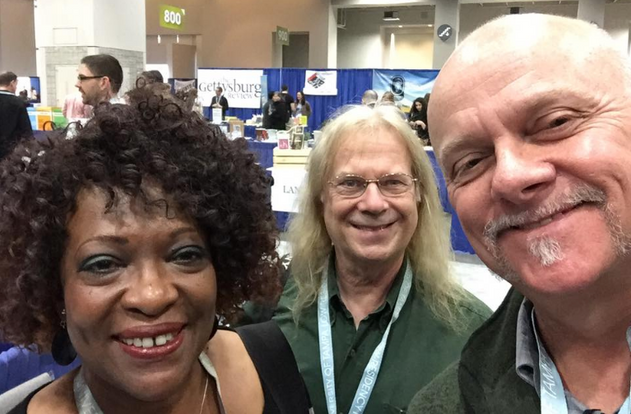 Rita Dove (U.S. Poet Laurete, 1993-1995), Fred Viebahn (author, journalist, professor), Grant Hier | AWP Conference Bookfair, Washington D.C.  |  2017