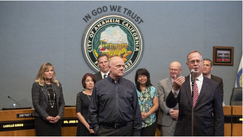 Mayor Tait Proclaims Grant Hier as Anaheim's First Poet Laureate | Anaheim City Hall | 15May2018