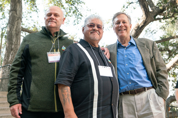 Grant Hier (Inaugural Poet Laureate of Anaheim), Luis J. Rodriguez (Poet Laureate of Los Angeles 2014-2015), Dana Gioia (Poet Laureate of California 2016-2018) | McGroarty House | 6Oct2018