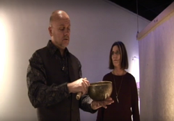Violet Unity Singing Bowl Grant and Pegg
