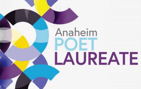 Anaheim Poet Laureate logo