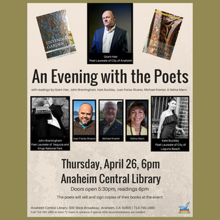 An Evening With the Poets  |  Anaheim Central Library  |  26April2018