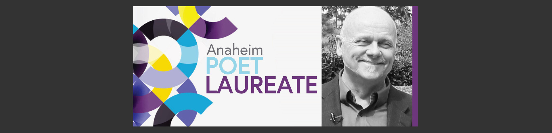Poet Laureate Logo with Grant Hier