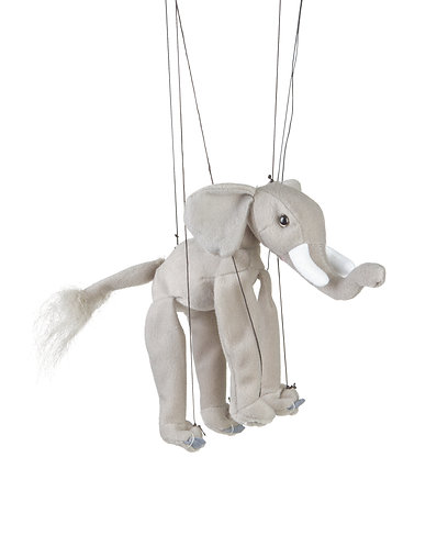 Baby Elephant Marionette Puppet - Sunny Toys