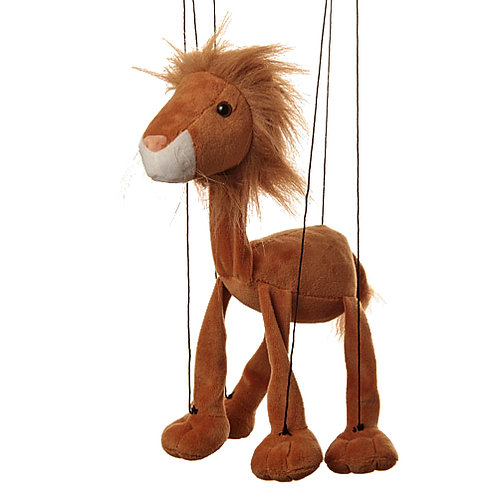 Baby Lion Marionette Puppet - Sunny Toys
