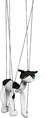 Baby Black & White Cat Marionette Puppet - Sunny Toys