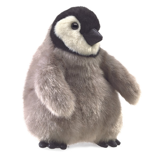 Baby Emperor Penguin Hand Puppet - Folkmanis