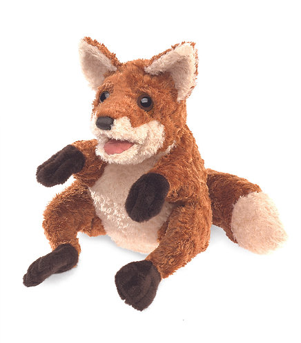 Crafty Fox Hand Puppet - Folkmanis