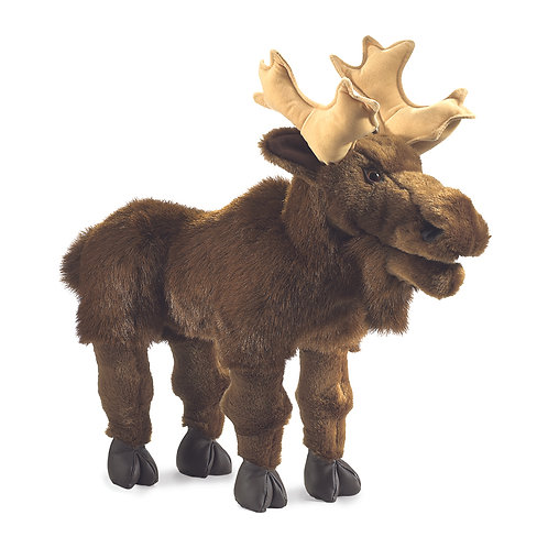 Moose Hand Puppet - Folkmanis