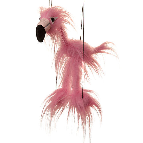 Baby Flamingo (Pink) Marionette Puppet - Sunny Toys