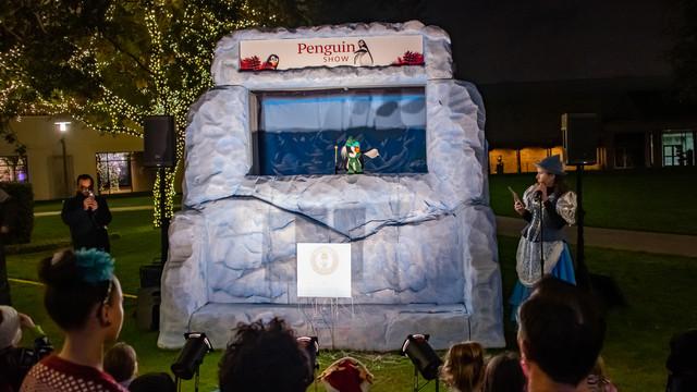 Penguin Puppet Show
