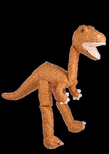 Orange Dino 38in - Large Marionette Puppet
