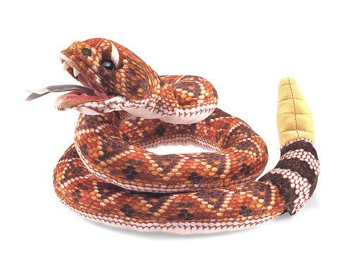 Rattlesnake Hand & Finger Puppet - Folkmanis