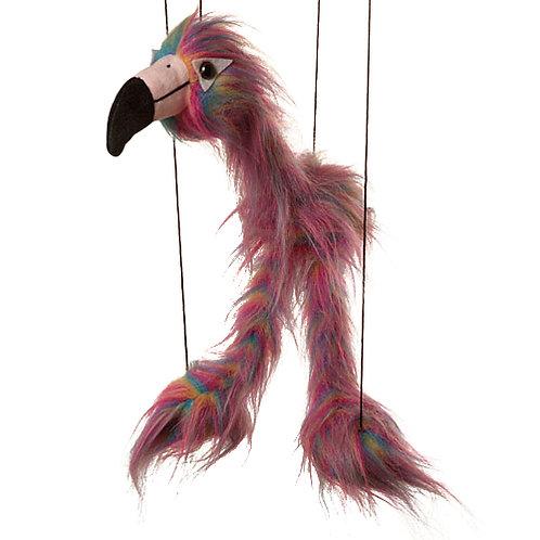 Baby Flamingo (Rainbow) Marionette Puppet - Sunny Toys