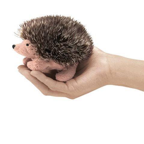 Mini Hedgehog Finger Puppet - Folkmanis