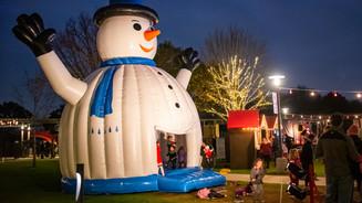 Snowman Bounce