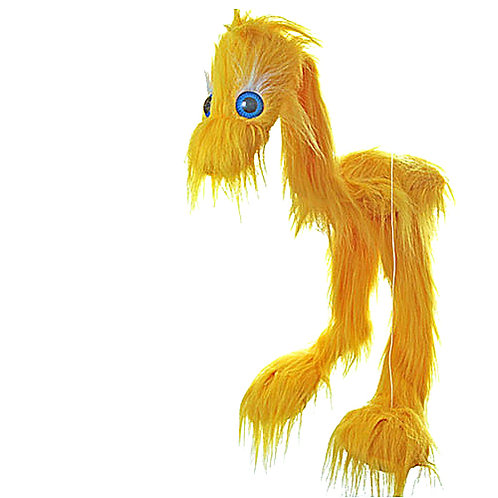 Yellow Jingle Bird 38in - Large Marionette Puppet