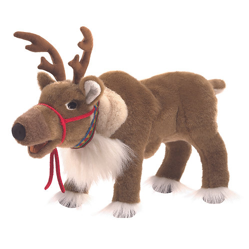Reindeer Hand Puppet - Folkmanis