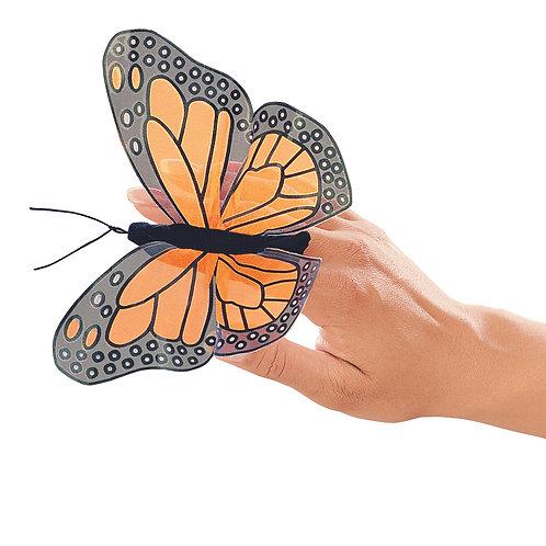 Mini Monarch Butterfly Finger Puppet - Folkmanis