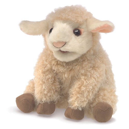 Small Lamb Hand Puppet - Folkmanis