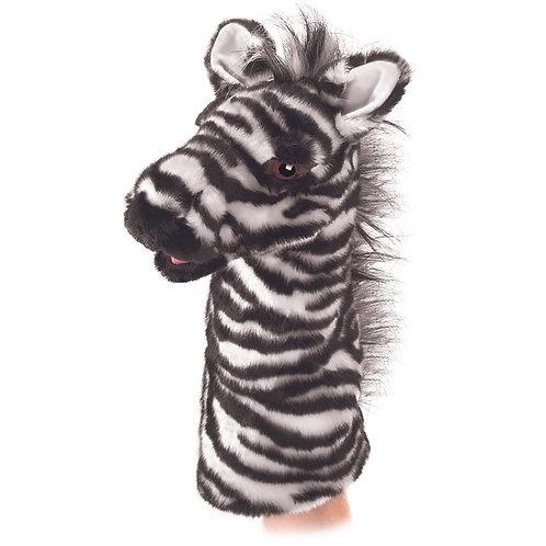 Zebra Stage (Hand) Puppet - Folkmanis