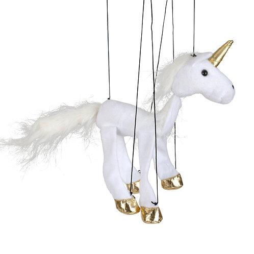 Baby Unicorn (White) Marionette Puppet - Sunny Toys