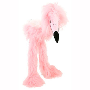 Pink Flamingo 38in - Large Marionette Puppet
