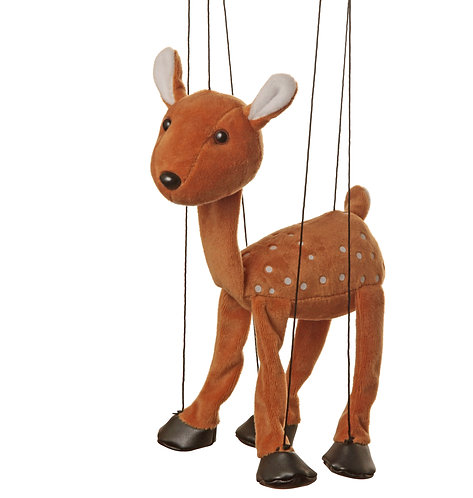 Baby Fawn Marionette Puppet - Sunny Toys