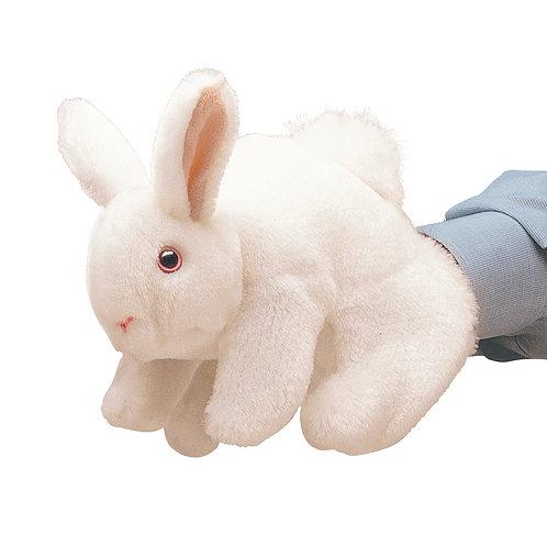White Bunny Rabbit Hand Puppet - Folkmanis