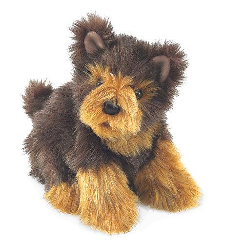 Yorkie Pup Hand Puppet - Folkmanis