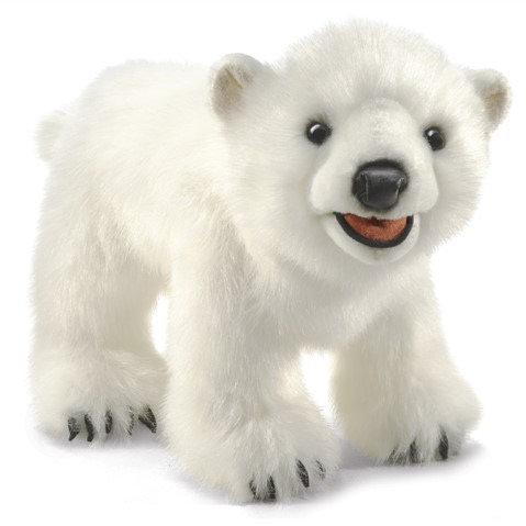 Polar Bear Cub Hand Puppet- Folkmanis