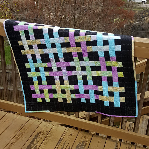 Weave It To Be Quilt