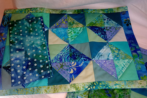 Quilted Place Mat and Napkin