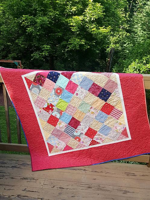 Scrappy Picnic Blanket