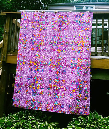 Twin Size Custom Quilt